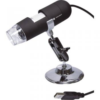 USB mikroskop TOOLCRAFT 2 mil. piksov, digitalni, povečava (maks.): 200 x