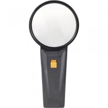 Lupa za elektronike Conrad, možnost osvetlitve, 2-kratna povečava, 191 x 97 x 31 mm Magnifier2x
