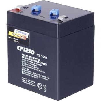 Svinčev akumulator 12 V 5 Ah Conrad energy