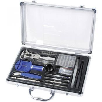 Komplet orodja za urarje v aluminijastem kovčku Brüder Mannesmann 11760
