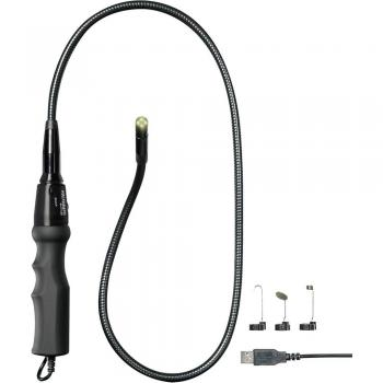 USB-endoskop VOLTCRAFT BS-17+ sonde-: 8 mm dolžina sonde: 93 cm slikovna funkcija, video funkcija, LED-osvetlitev, fokus