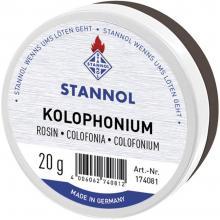 Kolofonija Stannol 174081 vsebuje 20 g