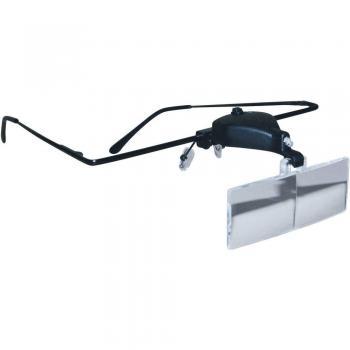 Očala s povečevalnim steklom in LED svetilko RONA 450515 1,5x/2,5 x/3,5 x