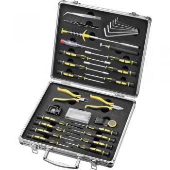 30-delni komplet orodja za finomehanike/elektronike 814892 Basetech
