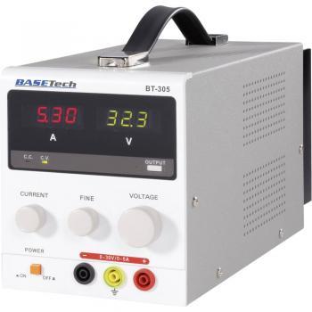 Basetech BT-305 0 - 30 V/DC 0 - 5 A 150 W