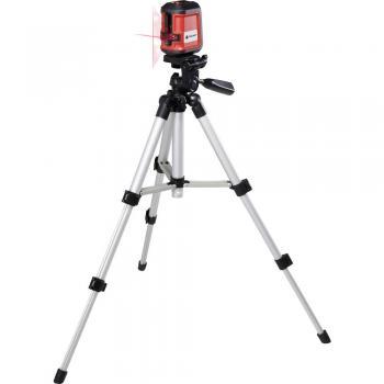 TOOLCRAFT CL8 križni laser, samo-uravnavajoč, vklj. s stojalom
