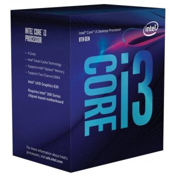 Intel procesor i3-8100 BOX, Coffee Lake