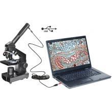 Otroški mikroskop monokularni 1024 x National Geographic svetlobni, presevni
