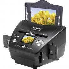 Skener diapozitivov, foto skener, negativ skener Reflecta 3v1 skener 1800 dpi digitalizacija brez računalnika, zaslon