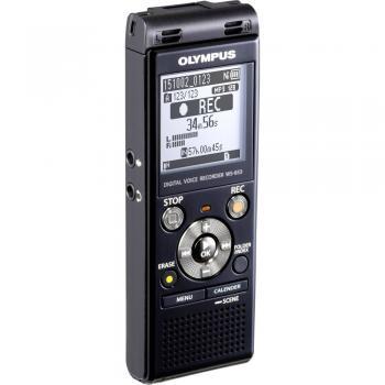 Digitalni diktafon Olympus WS-853 čas snemanja (max.) 2080 h črne barve