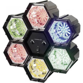 LED svetlobne orgle, 6-kanalne