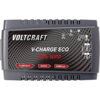 VOLTCRAFT V-Charge Eco LiPo 2000 polnilnik akumulatorjev za modelarstvo 230 V 2 A litijev-polimerski