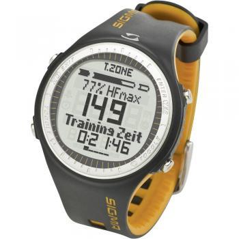 Sigma PC 25.10 Ura za merjenje srčnega utripa s priloženim prsnim trakom, črno-rumena