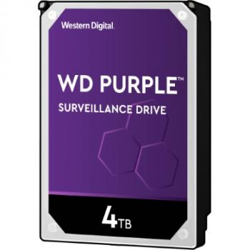 4TB WD WD40PURZ Purple Surveillance 5400RPM 64MB 24/7
