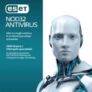 ESET NOD32 Antivirus OEM, 1 leto