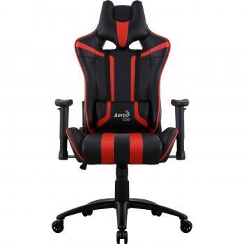 AeroCool Gaming stol AC120 AIR črna rdeča
