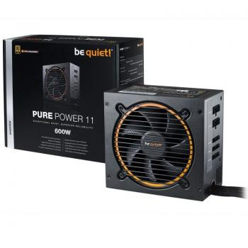 Be quiet! napajalnik ATX 600W 12V PURE POWER 11 CM BN298